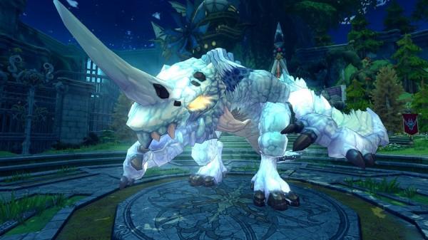 基本プレイ無料のハンティングファンタジーMMORPG『ハンターヒーロー』 ギルドで戦う新コンテンツ「ギルド戦」を3月26日に実装決定!氷系ボスモンスター「氷竜・イベルグ」登場だ!!