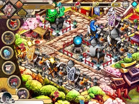 基本プレイ無料のブラウザ横スクロール進撃RPG 『九十九城』