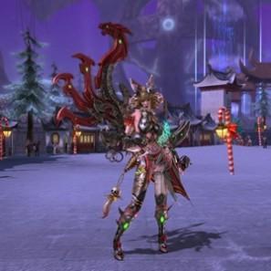 新作ファンタジーMMORPG『ウェポンズオブミソロジー』 レベルキャップ60を開放!クリスマス一色に染まる「クリスマスイベント」を開始だ!