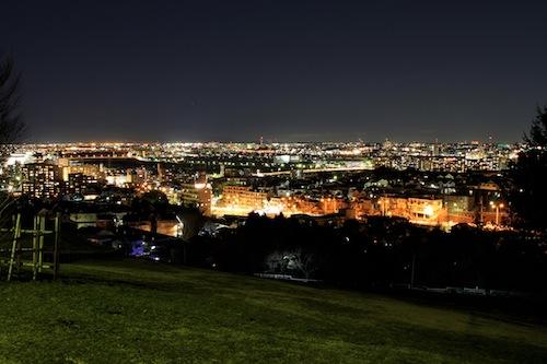 聖蹟桜ヶ丘 夜景