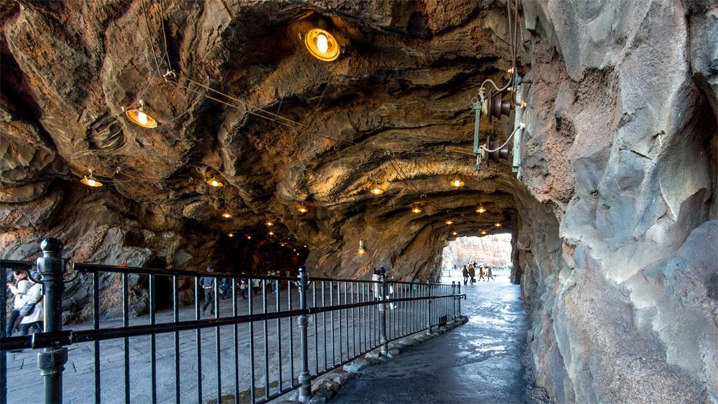 よく通る洞窟ルート(ミステリアスアイランド)