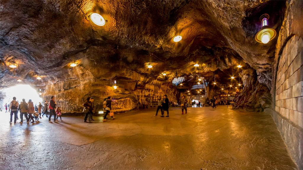 洞窟 周回廊端(ミステリアスアイランド)