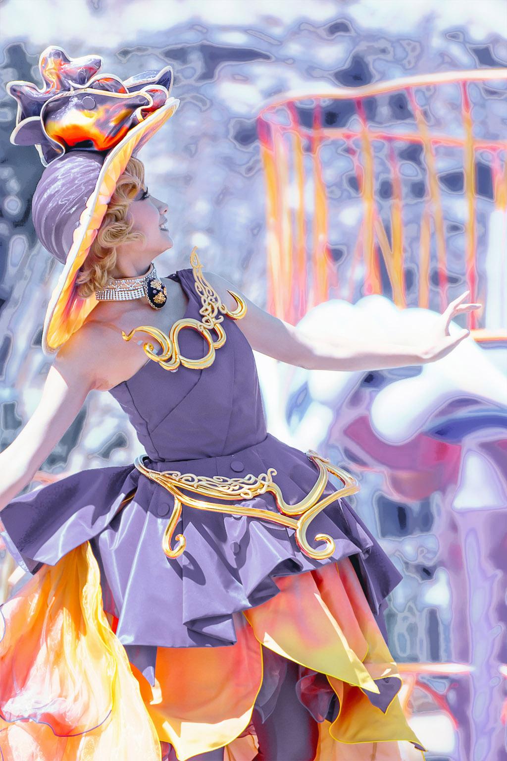 藤と柿V2(ファッショナブル・イースターのダンサーさん)
