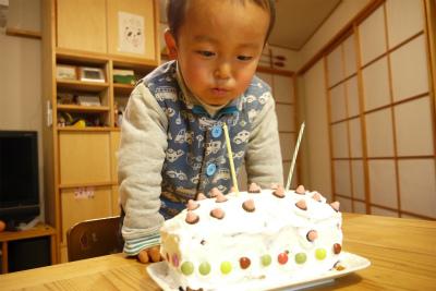 ヒロ君の誕生日