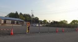 以前の大型駐車場