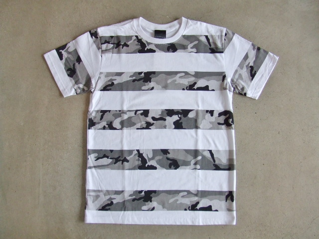 NOBRAND Camouflage border ss tee