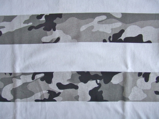 NOBRAND Camouflage border ss tee ft1
