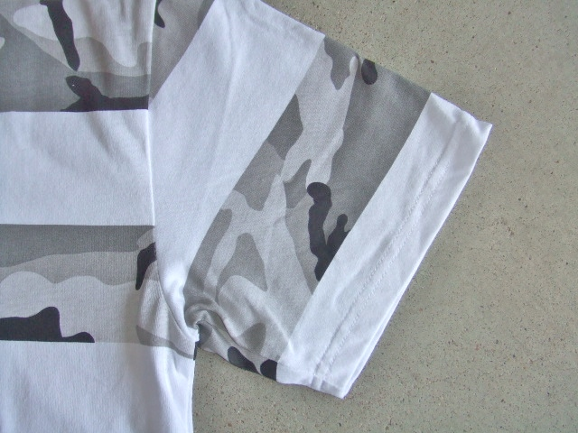 NOBRAND Camouflage border ss tee ft2