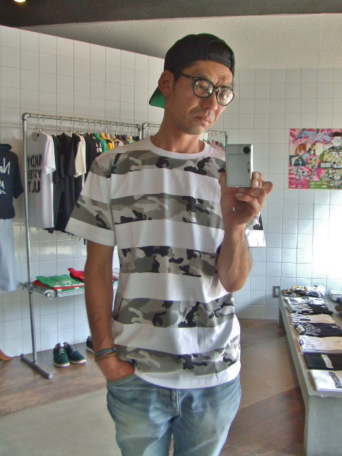 NOBRAND Camouflage border ss tee st
