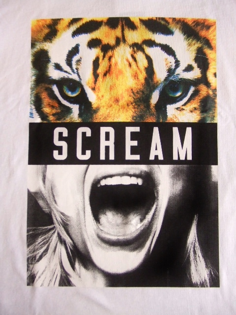 NOBRAND SCREM SS TEE WHITE FT1