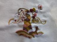 刺繍(クルーエルワーク)
