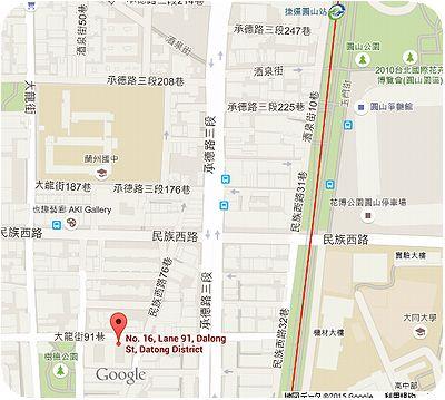 昭和亭地図