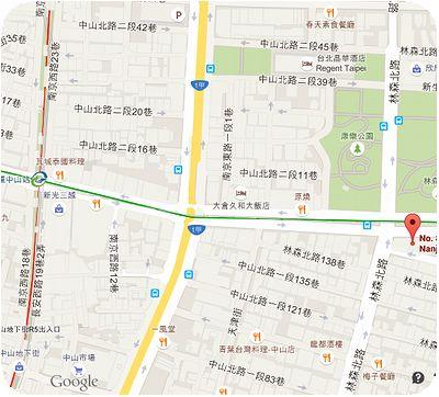 金品茶語地図
