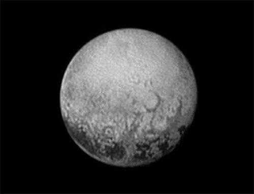 2015年7月11日撮影の冥王星