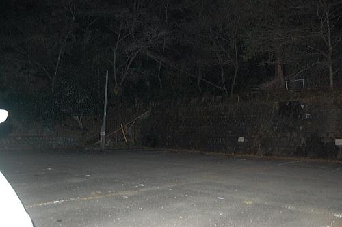 鎌北湖のとある駐車場2