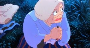神池のお祖母さん