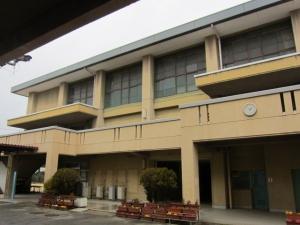 西ノ京中学校体育館