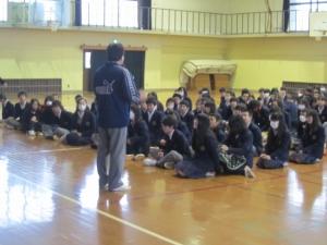 西ノ京中学峯村先生