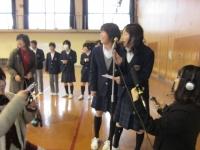 西ノ京中学司会2