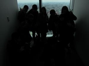 25階での集合写真