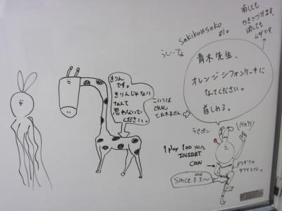 アニメ落書き1