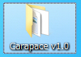 Carapaceダウンロードファイルの解凍