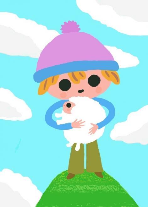 羊を抱く少年_convert_20150104150858