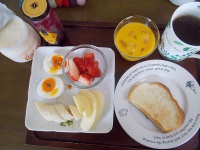 簡単な朝食