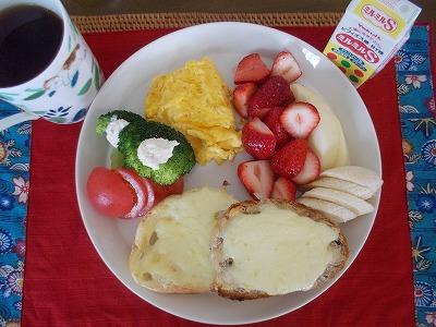 母の日の朝食