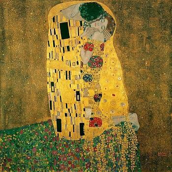 『接吻』1908年 クリムト