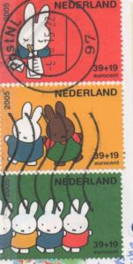 切手 オランダ ミッフィー