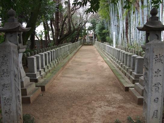 桜山神社 神風連志士列墓