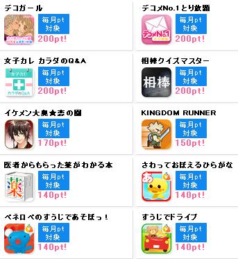 ポイント インカム アプリ