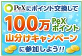 PeX交換山分け