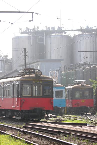 2009年7月 銚子電鉄 仲ノ町