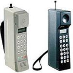 1991年超小型携帯電話「ムーバ」がこの年の4月に発売。
