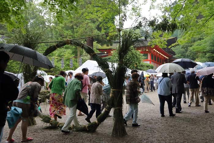 石上神宮 夏越の大祓式3