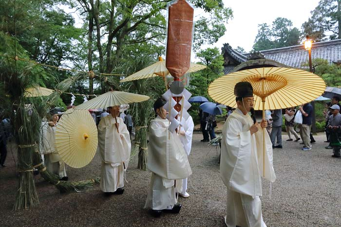 石上神宮 夏越の大祓式2