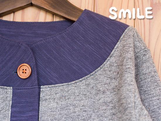 SMILE -新パターン「スマイルカーディガン」のご紹介の画像