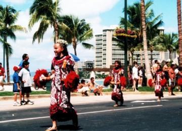 ハワイ お祭り