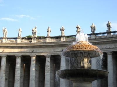 ローマ サンピエトロ広場1