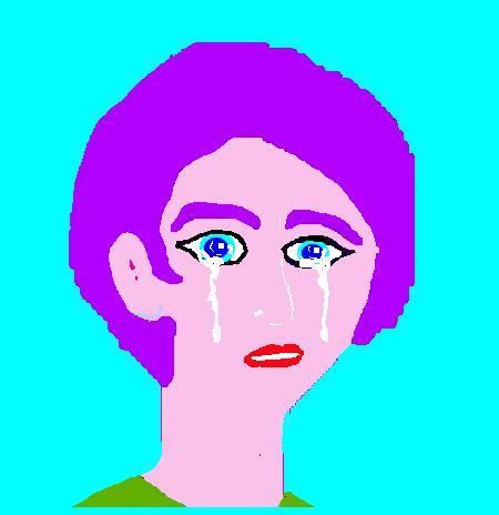 Jeny Law泣き顔左