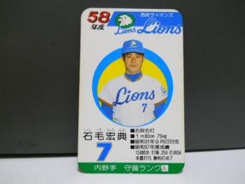 昭和58年(1983年) 西武ライオン...