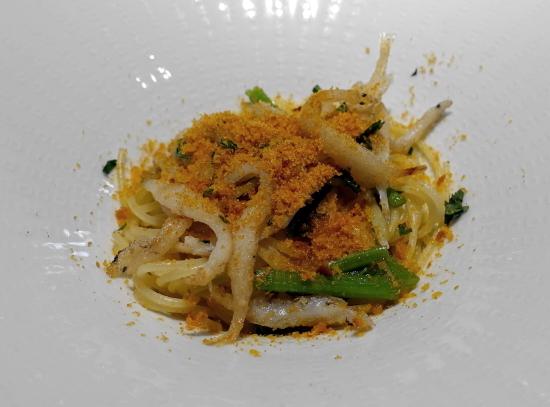 パスタ白魚 (2)