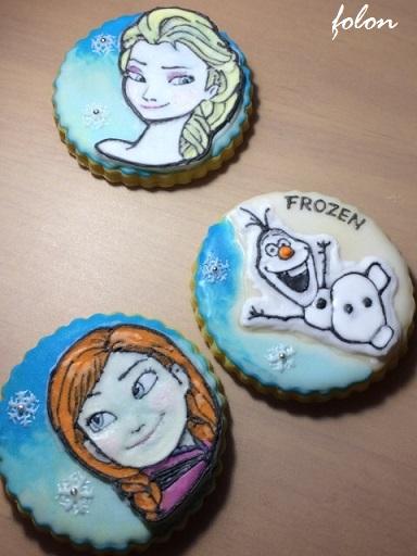 アナ雪クッキー01