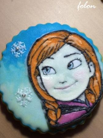 アナ雪クッキー02