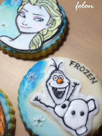 アナ雪クッキー03