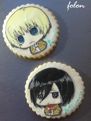 進撃クッキー02