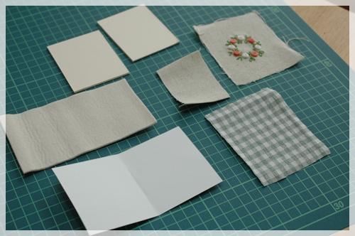 厚紙など材料