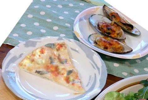 8-プレーンピザ